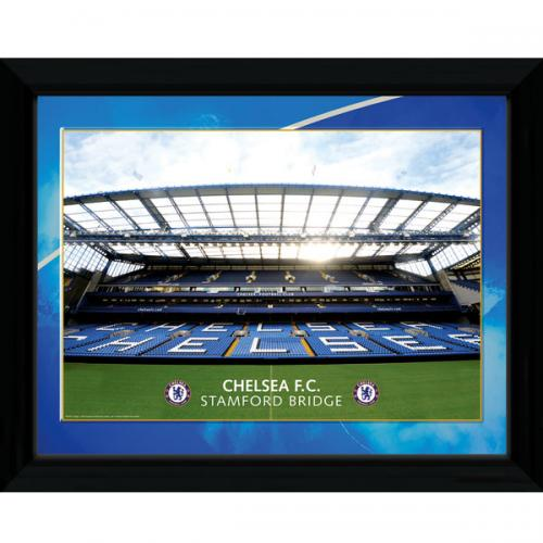 Chelsea F.C. Picture Stamford Bridge 16 x 12