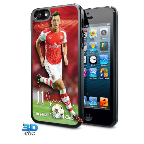 Arsenal F.C. iPhone 5 / 5S Hard Case 3D Ozil