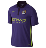 2014-2015 Man City Third Nike Football Shirt