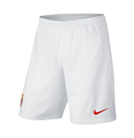 2014-2015 Monaco Nike Home Shorts (White)