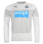 2014-2015 Newcastle Puma Sweatshirt (White) - Kids