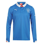 2014-2015 Rangers Puma Home Long Sleeve Shirt (Kids)