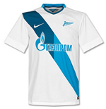 2014-2015 Zenit Away Nike Supporters Tee