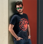 Game Of Thrones T-shirt Fire And Blood