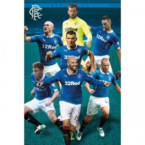 Rangers F.C. Poster Players 90