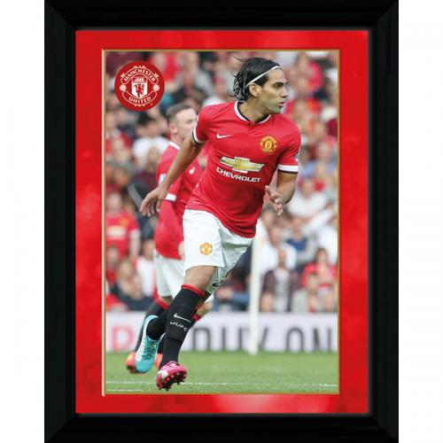 Manchester United F.C. Picture Falcao 16 x 12