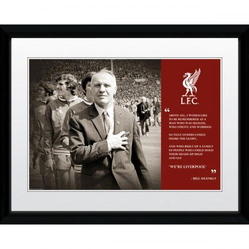 Liverpool F.C. Picture Shankly  16 x 12