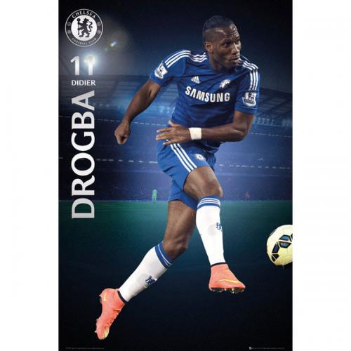Chelsea F.C. Poster Drogba 63