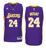 Mens Los Angeles Lakers Kobe Bryant adidas Purple New Swingman Road Jersey