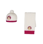 Violetta Scarf and Cap Set