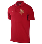 2013-14 England Nike Polo Shirt (Red)