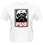 Plan 9 - Pug T-shirt Obey Pug