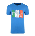 Italy Rwc 2015 Rugby T-shirt (blue)