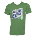 ROLLING ROCK Green Men's Classic Logo T-Shirt