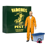 Breaking Bad Deluxe Action Figure Jesse Pinkman in Orange Hazmat Suit heo Exclusive 15 cm