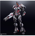 DC Comics Variant Play Arts Kai Vol. 4 Action Figure Cyborg 27 cm