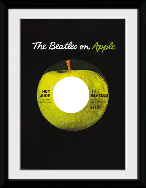 The Beatles Apple Collector Print