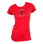Fireball Cinnamon Whiskey Women's Red T-Shirt
