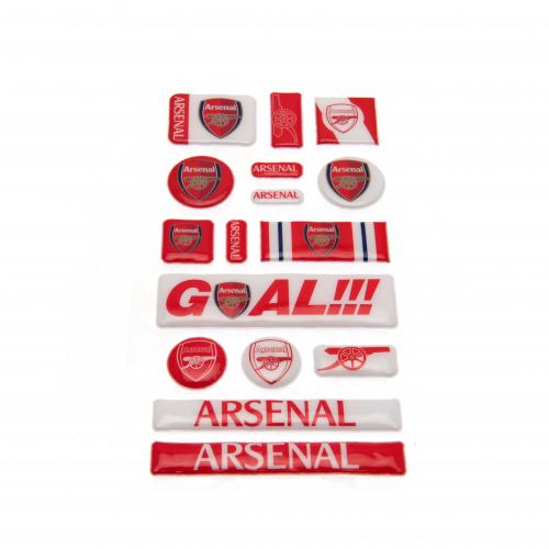 Arsenal  F.C. Bubble Sticker Set