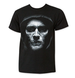 SONS OF ANARCHY Men's Black Jax Reaper Face Tee Shirt