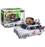 Ghostbusters POP! Vinyl Figure Ecto-1 with Winston Zeddemore 10 cm