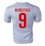 2014-15 Athletico Madrid Away Shirt (Mandzukic 9)