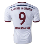 2014-15 Bayern Munich Away Shirt (Lewandowski 9) - Kids