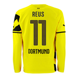 2014-15 Borussia Dortmund Long Sleeve Home Shirt (Reus 11)