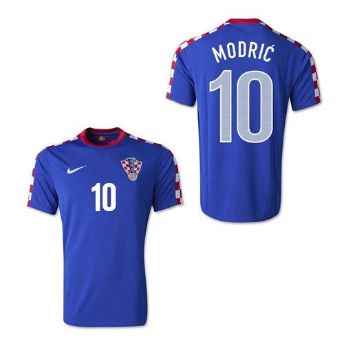 pretty nice 51942 d7691 2014-15 Croatia World Cup Away Shirt (Modric 10)