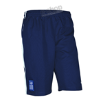 2014-15 Greece Nike Longer Woven Shorts (Navy)
