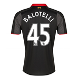 2014-15 Liverpool 3rd Shirt (Balotelli 45)