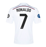 2014-15 Real Madrid UCL Home Shirt (Ronaldo 7) - Kids