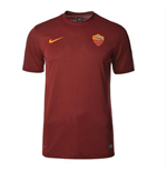 2014-2015 AS Roma Home Nike Supporters Tee