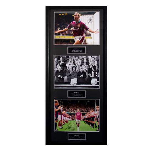 West Ham United F.C. Treble Legends Signed Framed Prints