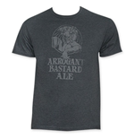 ARROGANT BASTARD Ale Men's Grey T-Shirt