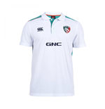 2014-2015 Leicester Tigers Cotton Polo Shirt (White)
