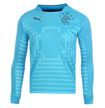 2014-2015 Rangers Puma Away Goalkeeper Shirt (Blue) - Kids