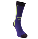 2014-2015 Man City Nike Third Socks (Purple)