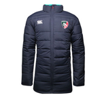 2014-2015 Leicester Tigers Rugby Padded Jacket (Parisian Night)