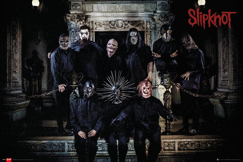 Slipknot Band Line Up Maxi Poster
