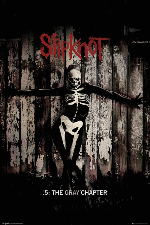 Slipknot The Gray Chapter Maxi Poster