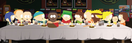 South Park Last Supper Midi Poster