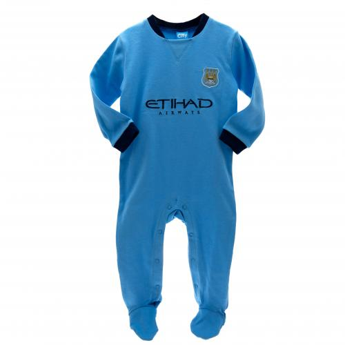 Manchester City F.C. Sleepsuit 9/12 mths