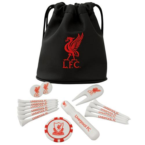 Liverpool F.C. Tote Bag Golf Gift Set