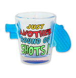 Just Another Round Of Shots Revolver Handle Shot Glass