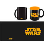 Star Wars Mug Orange Logo