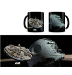 Star Wars Mug Falcon vs. Death Star