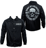 SONS OF ANARCHY Black Men's Coaches Jacket
