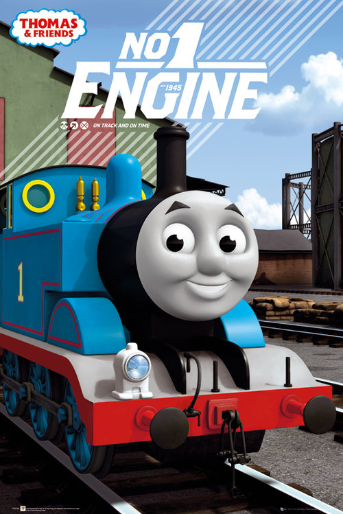 Thomas and Friends No 1 Engine Maxi Poster