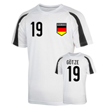 Germany Sports Training Jersey (gotze 19)
